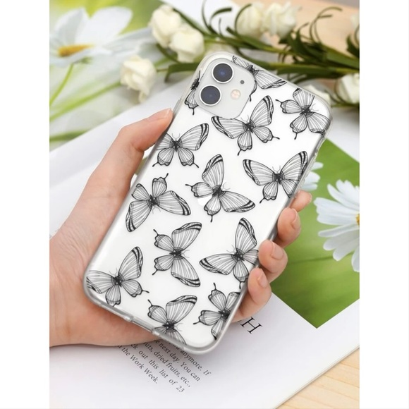 Clear Butterflies iPhone XS Max Case 🦋